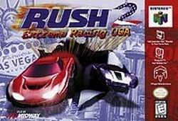 Rush 2 - Extreme Racing USA (USA) Box Scan